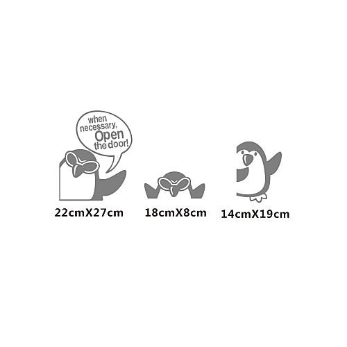 Животное Трехместный Пингвины стены Стикеры Lightinthebox 1073.000