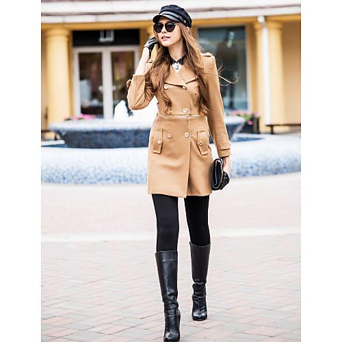 Женское твидовое пальто Lightinthebox 4468.000