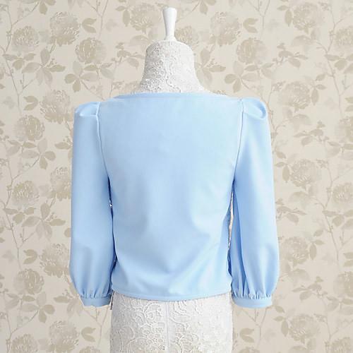 Мода DABUWAWA Женские Роза 1/2 Длина рукава пальто Lightinthebox 5584.000