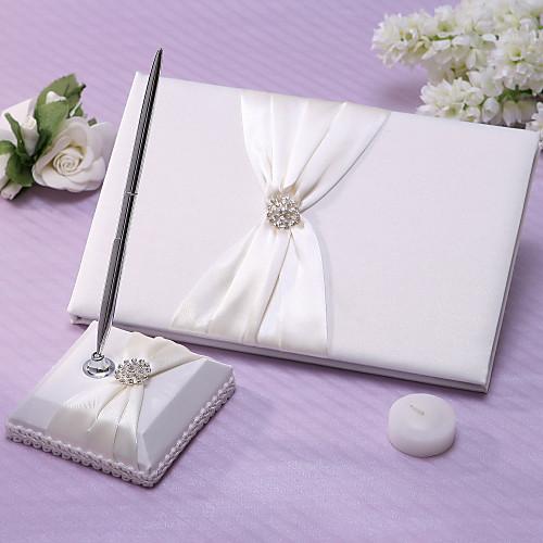 Классическая коллекция Свадебный комплект В Кот атласная (5 шт) Lightinthebox 1866.000