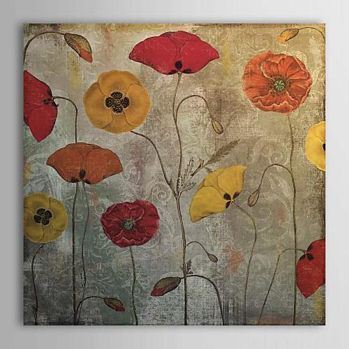 Натянутым холстом танцевального искусства Маки по цвету хлебобулочные Lightinthebox 1073.000