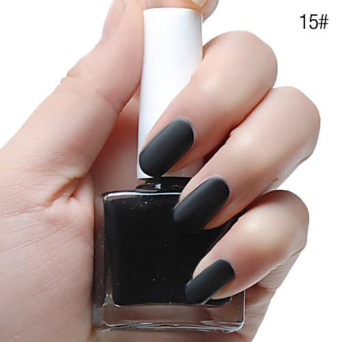 Тупая польской Мэтт Лак для ногтей (12 мл, разные цвета, No.13-18) Lightinthebox 122.000