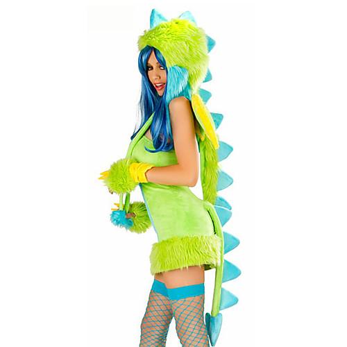 Муталисками Зеленый Дракон женского костюма Halloween Lightinthebox 3437.000