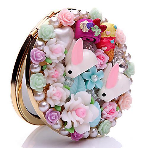 Кролик Сельская местность Макияж Карманное зеркало Lightinthebox 300.000