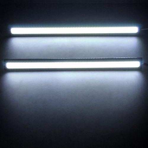 Дневные ходовые огни COB LED 6W 6000K, водонопронецаемые,  белый ксенон (2  шт. в комплекте) Lightinthebox 386.000