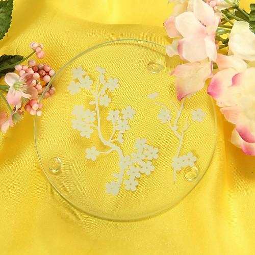 цветущей сакуры матовое стекло подставки (комплект из 2) Lightinthebox 42.000