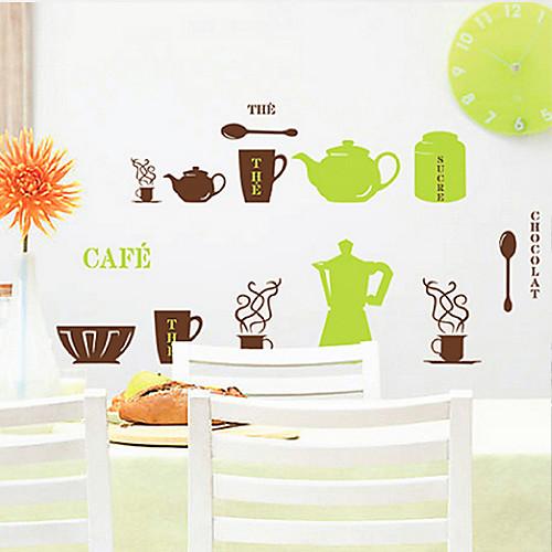 Натюрморт кухонной посуды стены Стикеры Lightinthebox 858.000