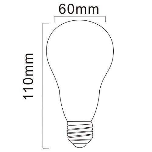 LED лампа (220-240V), теплый белый свет, E27 A60 10W 28x5630SMD 850LM 2700K Lightinthebox 901.000
