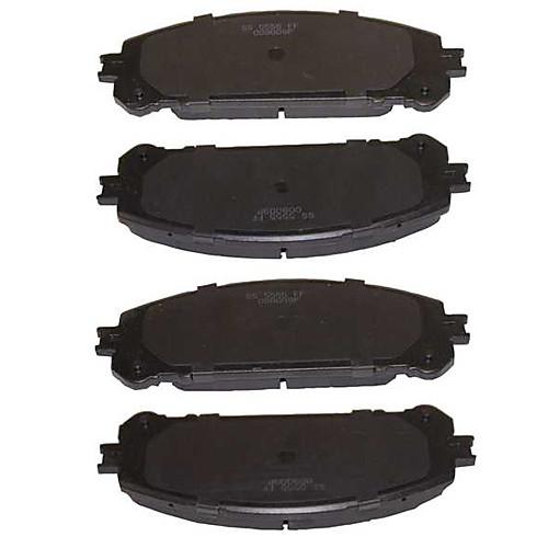 OE Замена передних Платиновый Премиум Керамическая Комплект тормозных колодок для Lexus RX350 2010-2013 Lightinthebox 1374.000