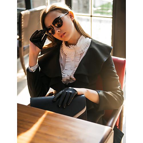 Женское пальто с оборкой на воротнике Lightinthebox 3770.000