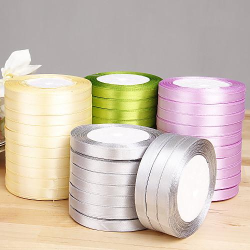 твердых атласной лентой цвета - набор из 10 рулонов (больше цветов) Lightinthebox 313.000