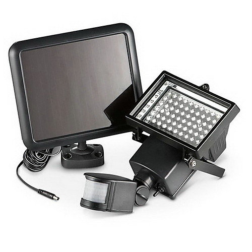Солнечные свет безопасности с 60 яркими светодиодами Lightinthebox 4296.000
