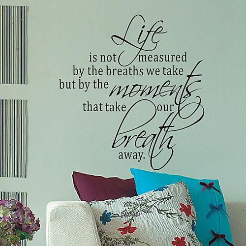 Слова какой мере ваша стикеры стены Жизнь Lightinthebox 1288.000