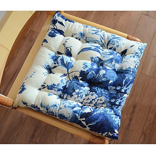 Китайский стиль синий цветочный дизайн кресла Pad Lightinthebox 665.000