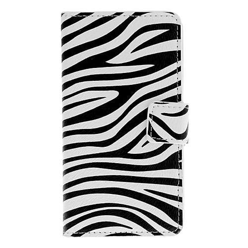 Zebra полосой шаблон Полный Дело Корпус с карты памяти для Sony L36h (Xperia Z) Lightinthebox 265.000