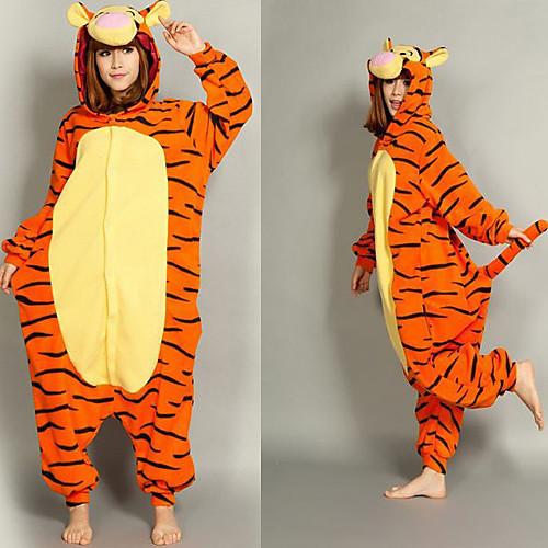 Смарт Тигра флиса взрослых Kigurumi пижамы Lightinthebox 1460.000
