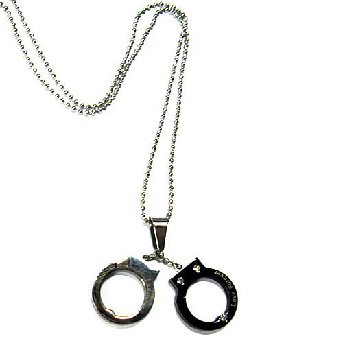 Reborn! Kyoya Hibari наручники формы из нержавеющей стали Ожерелье Lightinthebox 343.000