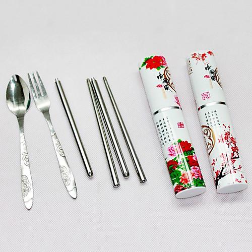 Китайский стиль Путешествия Посуда Set - Пион Pattern Lightinthebox 128.000