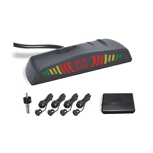 4 Радар парковочный сенсор системы-светодиодный дисплей и зуммер сигнализации (белый, черный, серебристый) Lightinthebox 687.000