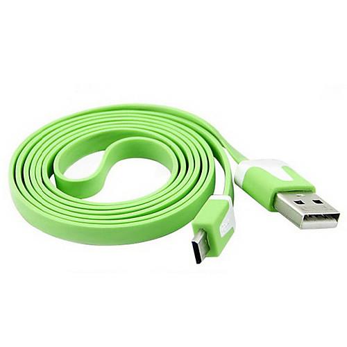 Лапша, как Micro USB кабель для Samsung i9300 i9500/s3 S4 (разных цветов) Lightinthebox 85.000