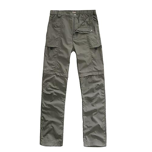 langzu мужские съемные quickdry пешеходные брюки Lightinthebox 1288.000