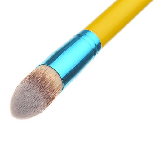Выдавливание желтой ручкой круглая щетка Фонд макияж кисти Lightinthebox 171.000
