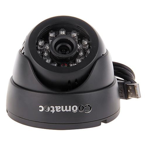 Coomatec DVRCam CCTV H.264 HD 720P DVR SD Card 1/4 дюйма CMOS мегапикселей купол камеры наблюдения C802H Lightinthebox 2277.000