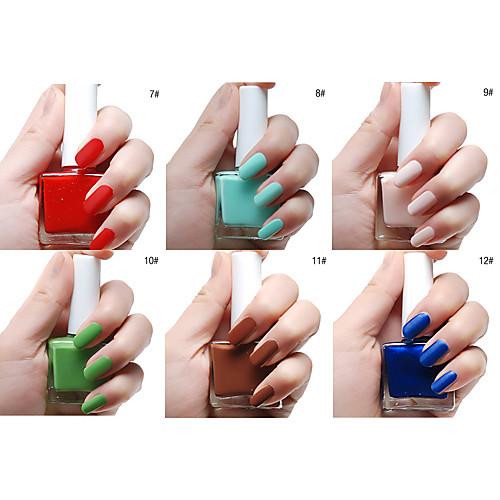Тупая польской Мэтт Лак для ногтей (12 мл, разные цвета, № 7-12) Lightinthebox 128.000