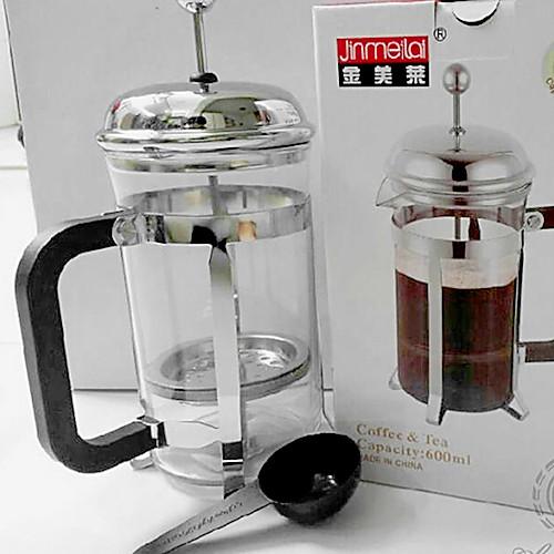 Французская пресса Pot Coffee Pot Tea Pot жаропрочного стекла Элегантный Percolator (1000 мл) Lightinthebox 1073.000