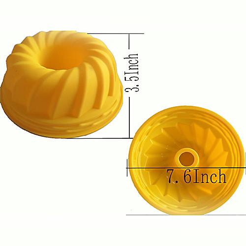 Тыква Muffin сладкие конфеты силикона студня прессформы (1шт) Lightinthebox 1396.000