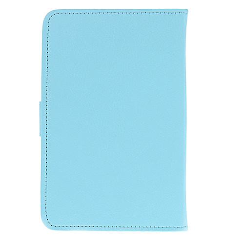 Кожа PU защитный чехол Tablet (чистый синий) для планшетных ПК Эран Lightinthebox 128.000