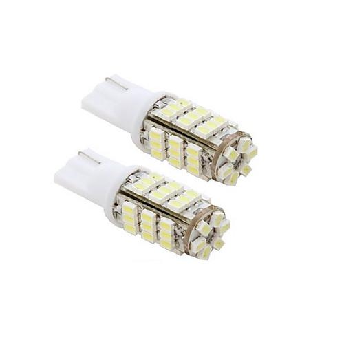 2шт 42-SMD T15 12V Светодиодные лампы Замена Light  стикер 921 912 906 - белый