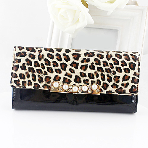 Стильный женский кошелек Leopard Pearl
