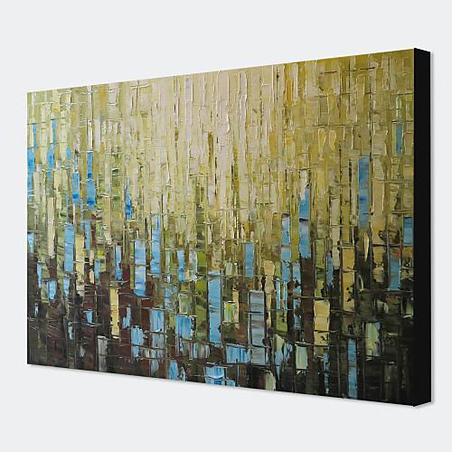 Абстракция, ручная роспись маслом на холсте 1311-AB1121 Lightinthebox 4296.000