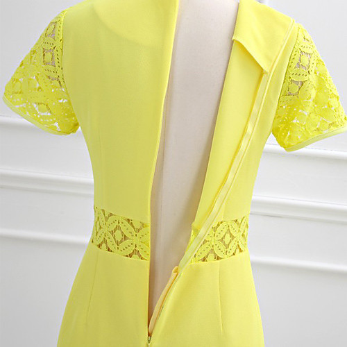 MFL простое платье кружево Сращивание Lightinthebox 816.000