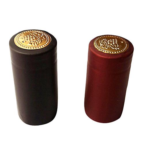 Золотой тон бордовый ПВХ вино сократится капсулы для винных бутылок (случайный цвет) Lightinthebox 42.000