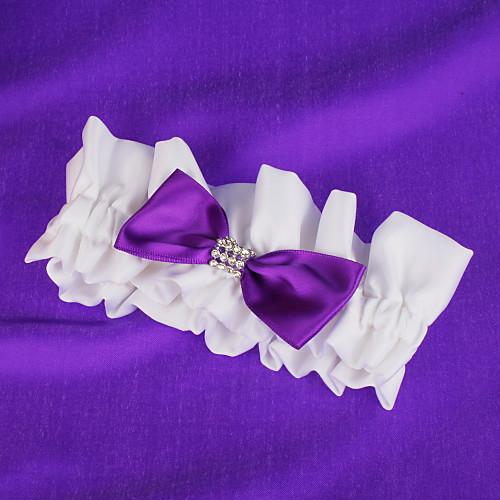 свадьба подвязки с фиолетовым бантом Lightinthebox 180.000