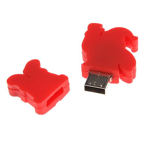 Пластиковые Деда Мороза Модель USB 4 Гб Lightinthebox 300.000