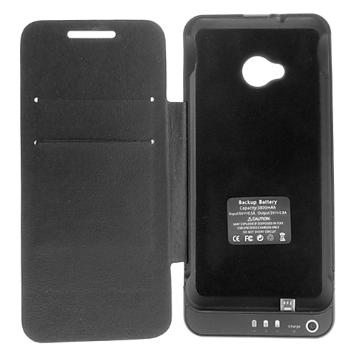 Внешняя батарея 3800mAh для всего тела Дело Power Pack с подставкой для HTC One / HTC M7 (Optioanal цвета) Lightinthebox 1245.000