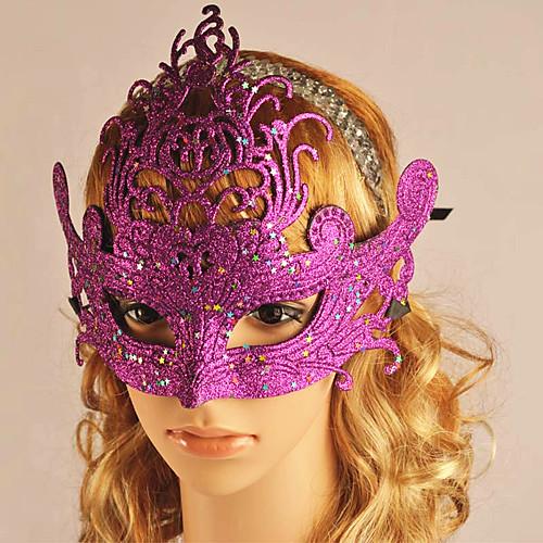 Маскарад королевы ПВХ порошка золота Хэллоуина маски Lightinthebox 257.000