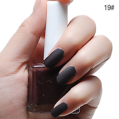 Тупая польской Мэтт Лак для ногтей (12 мл, разные цвета, № 19-24) Lightinthebox 128.000