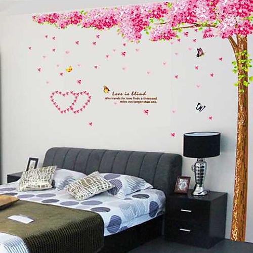 Ботанический Любовь под дерево стикеры стены Lightinthebox 1288.000