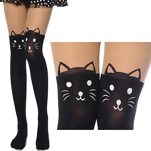 Симпатичные котята черный сладкий Чулки Лолита Lightinthebox 429.000