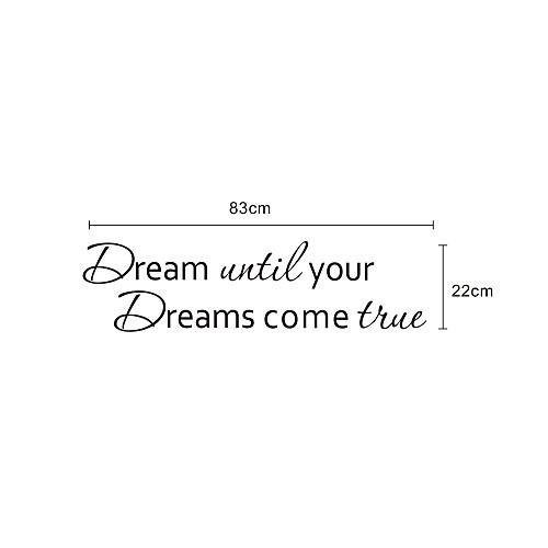 Слова ваша мечта Мечта наклейки стены Lightinthebox 644.000