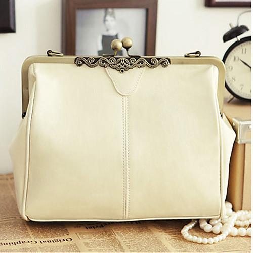 Полис женские белые 2013 Новая модель Топпер сумки кожи плеча Lightinthebox 558.000