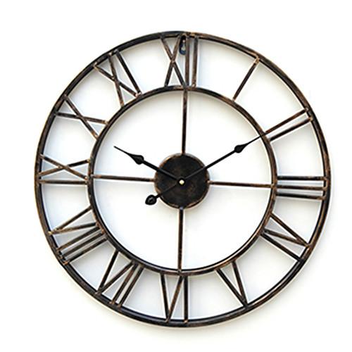 Часы настенные металлические в стиле кантри Lightinthebox 1718.000