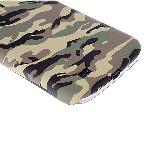 Термотрансферной печати камуфляж Чехол для Samsung Galaxy i9500 S4 Lightinthebox 300.000