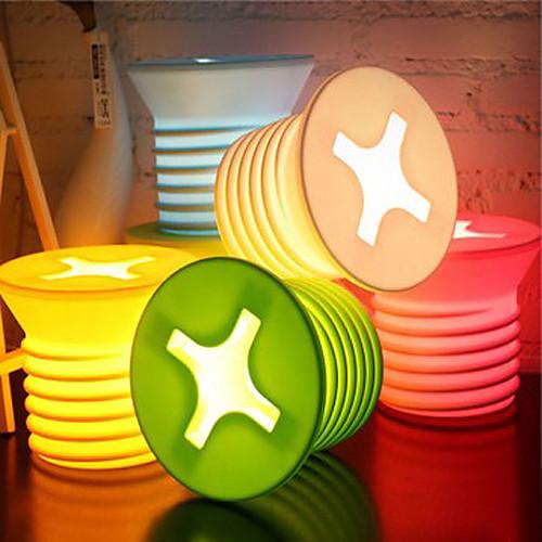 Современные Винт Форма Night Light-5 Доступные цвета Lightinthebox 644.000