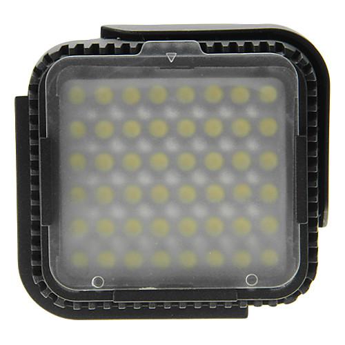 Pro 48 светодиодные лампы видео Лампа для Canon Nikon DSLR камер DV видеокамеры CN-LUX480