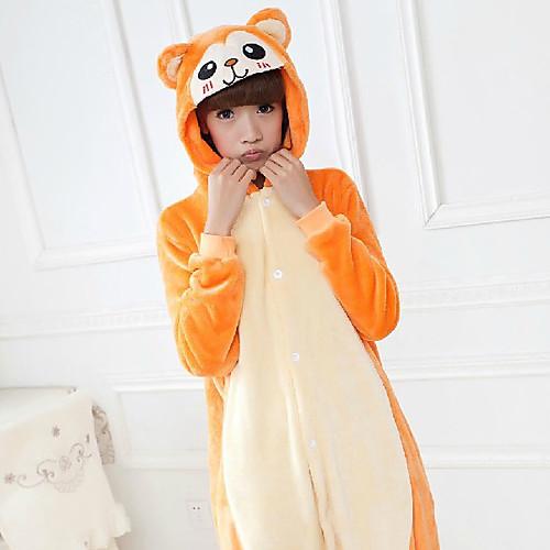 унисекс озорной обезьяна ватки кигуруми пижамы Lightinthebox 1288.000